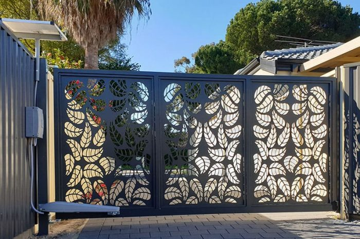 Automatic Swing Gates By Zara Designs