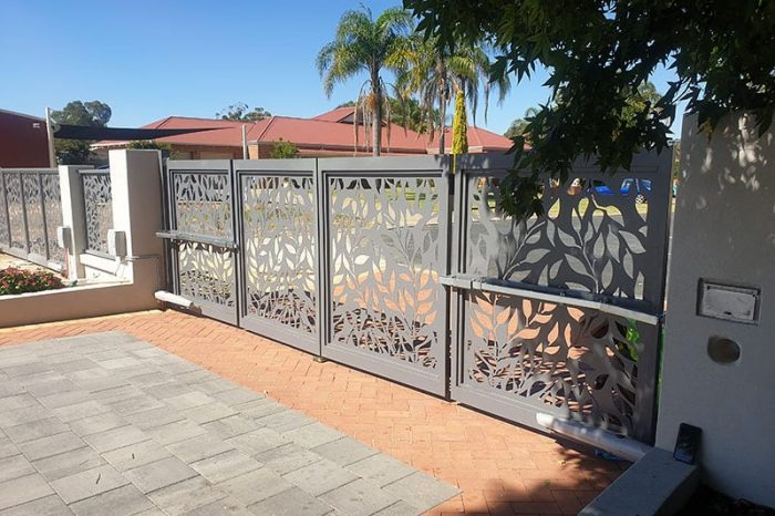 Automatic Bi-fold Gates By Zara Designs